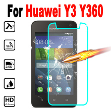 case for huawei y3 screen protector Premium Tempered Glass y360 y360-u61 y 3 360 Protective Film cover
