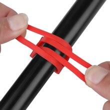 1 шт. велосипедный светильник, держатель на руль, силиконовая повязка для бандажа, крепление для велосипеда, эластичная лента для галстука, Бандажи, Аксессуары для велосипеда