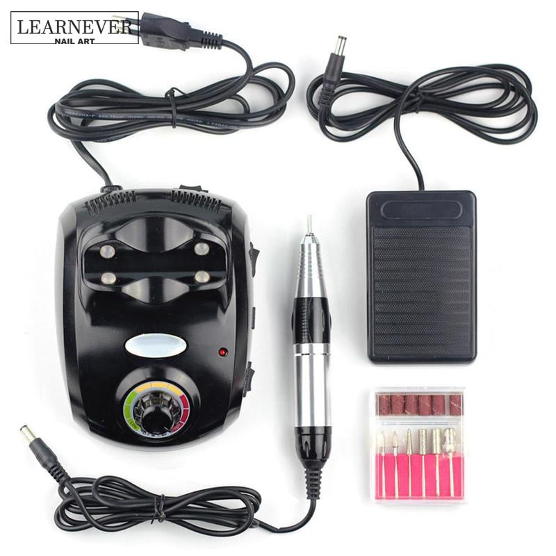 Equipment For Nails Nail Art Drill Electric Machine Manicure Pedicure Pen Tool Set Kit Hands Nail Polisher File Nail Art Tools electric drill machine file drill set kit for acrylic gel nail art polisher sets glazing
