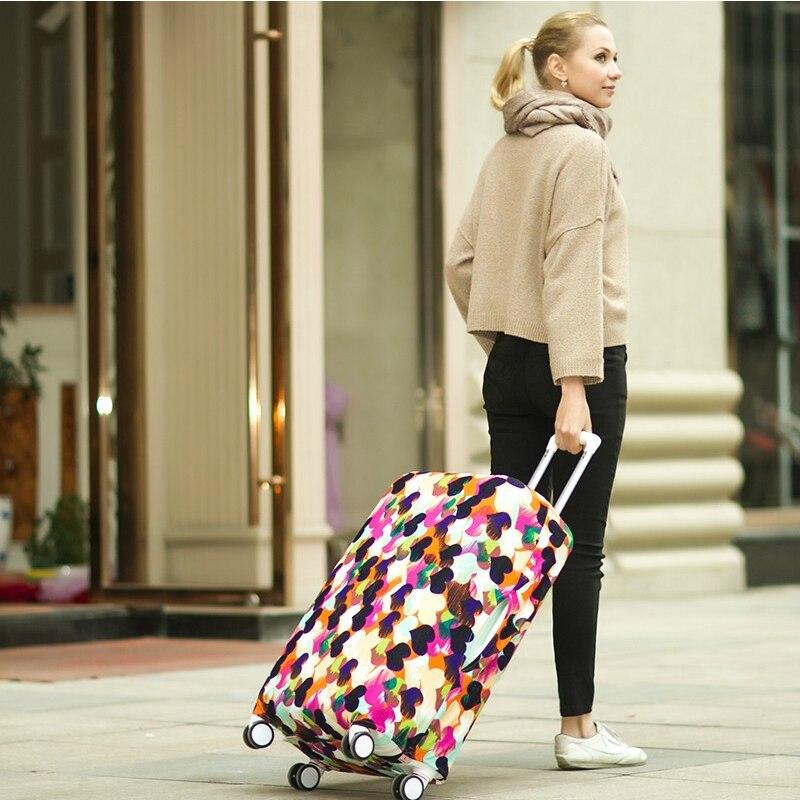 SAFEBET бренд чемодан защитная крышка относятся к 18 до 30 дюймов эластичные Чемодан Защитная крышка наборы туристические аксессуары случаях