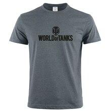 a8e744ddd Summer Style Funny World Of Tanks War ii T-Shirt Men Short Sleeve T Shirts