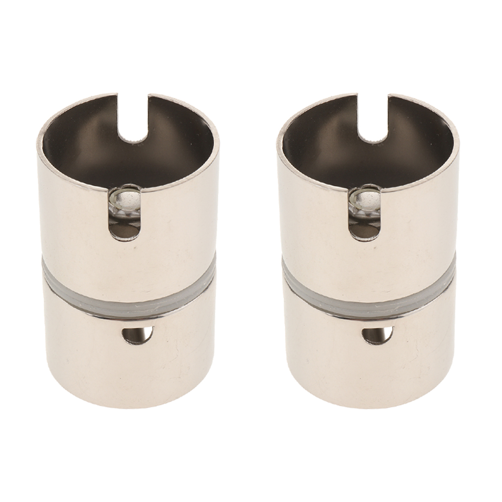 2 Pieces 3133SA Drop In Swivel Rod Holder Adapter-Free Ship 316 Stainless Steel For River Deep Sea Fishing Accessories