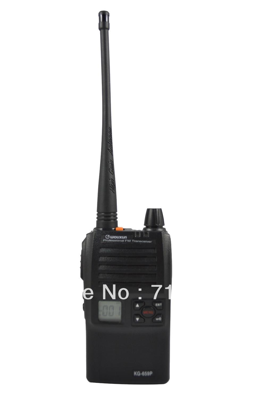 WOUXUN KG-659P VHF 5W 128CH FM Portable Two-way RadioWOUXUN KG-659P VHF 5W 128CH FM Portable Two-way Radio