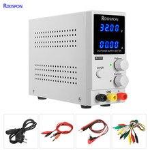 Alimentation électrique de laboratoire réglable, 30v, 10a, affichage 4 bits, régulateur de tension, réparation de charge