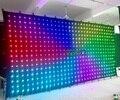 free shipping  hight quality  p18  6x3m  led curtain-in Bühnen-Lichteffekt aus Licht & Beleuchtung bei