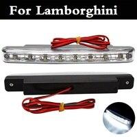 Auto Daytime Running Light 8 LED DRL Super White Head Lamp For Lamborghini Aventador Gallardo Murcielago