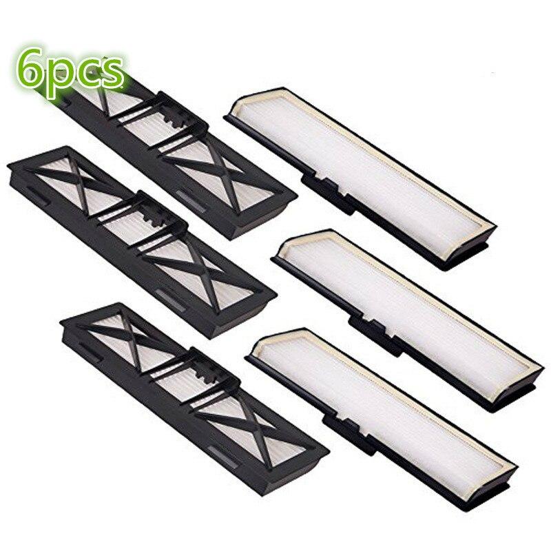 6 * pièces pour aspirateur HEPA Filtre pour Neato Botvac Connecté D série Filtres Remplace pour Neato D Série 945-0215 D75 D80 D85