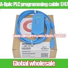 1 шт.-bplc PLC Кабель для программирования 1747-пик МСЖД для Allen-Bradley SLC/USB-1747-PIC Совместимость AB SLC загрузки данных кабель
