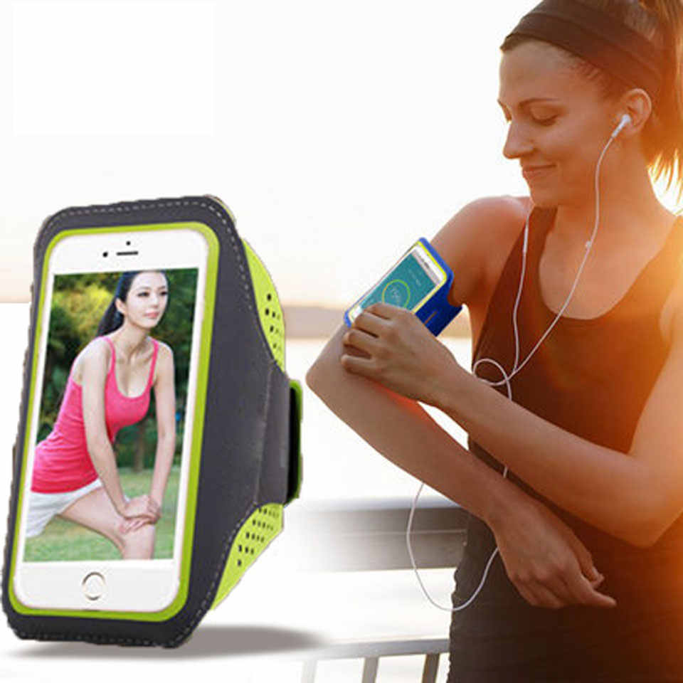 Touch Sensitive Waterproof Waistband Pouch Bag Case Running GYM Sport Arm band for Iphone 6 6s 7 8 Plus X Phone Cases Cover