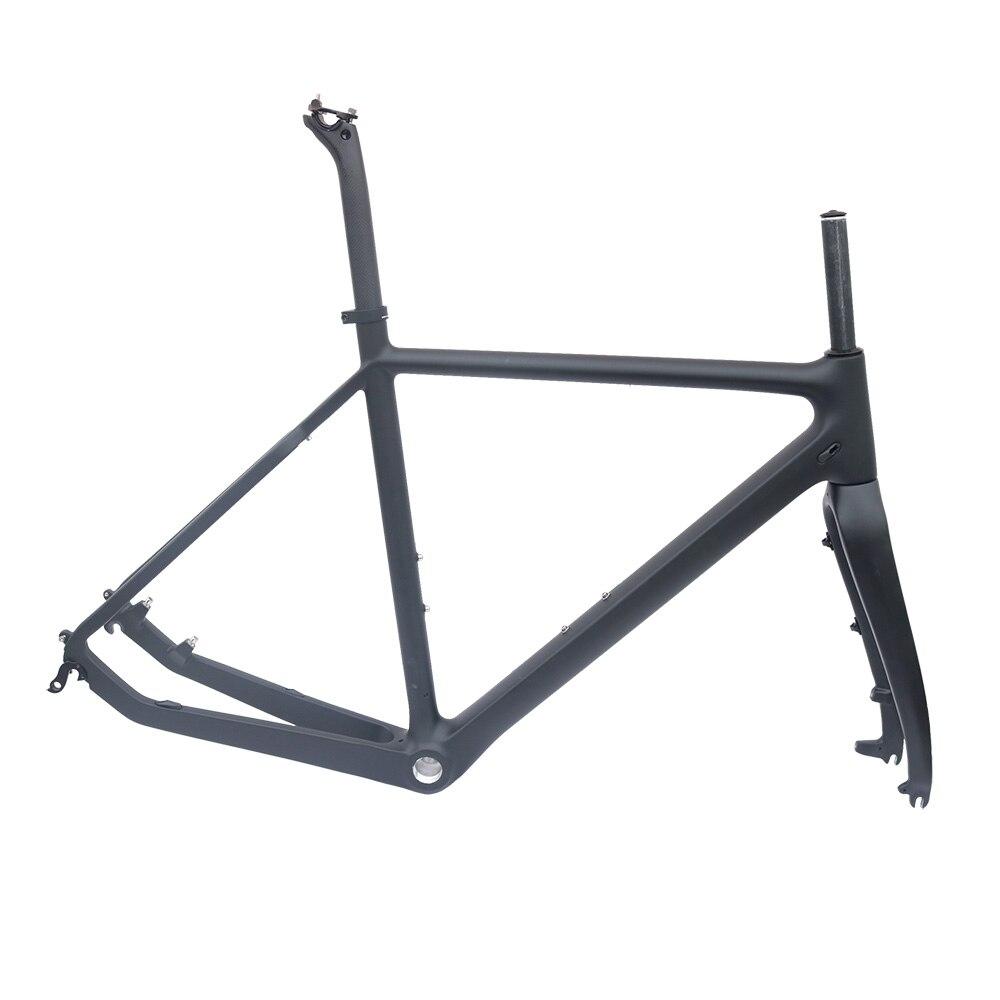 ⓪Ciclocross bicicleta de carbono Matt BCK 51/53/55 cm BSA Roda ...