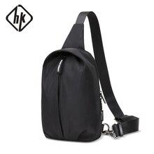 Hk New Fashion Chest Bag for Men Casual Crossbody B