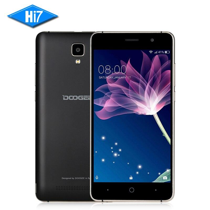 Nueva original doogee x10 teléfono móvil android 6.0 mtk6570 dual Core 512 M RAM
