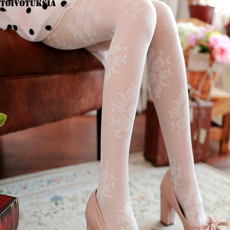 TOIVOTUKSIA Women Tights Popa Mujer Pantyhose Stockings Sexy Ladies Collant 20D Kawaii Womens Stocking Sexy Kousen