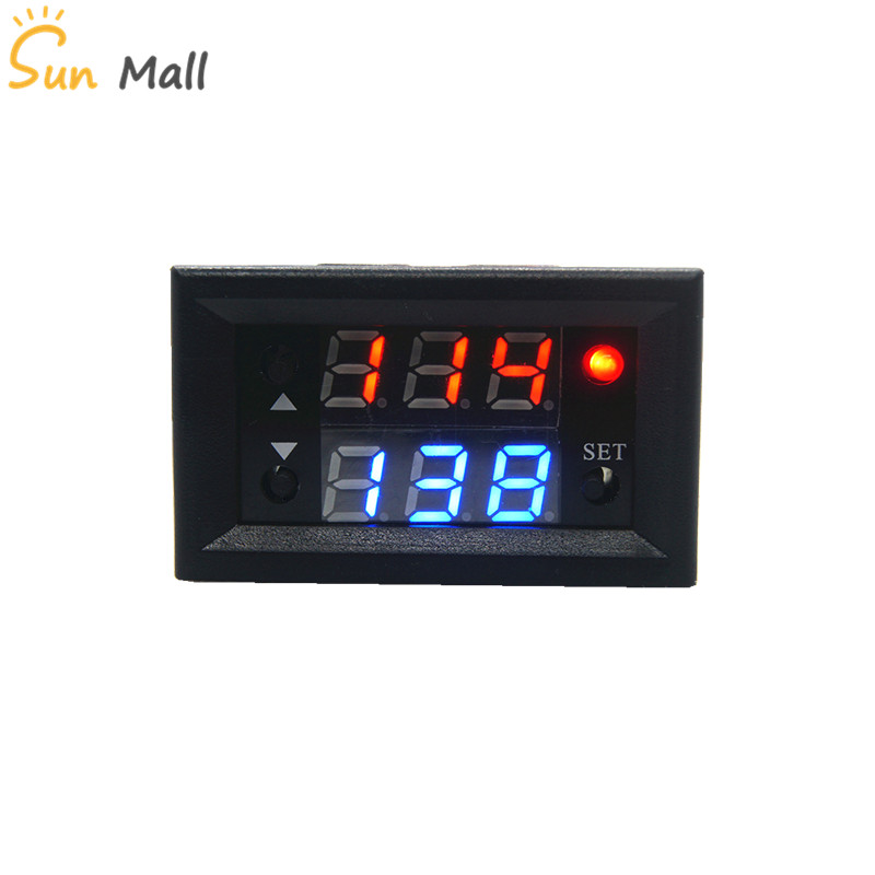 T2302 12V Timing Delay Timer Relay Module Digital LED Dual Display Cycle 0-999 Hours 20A 10pcs lot pc817 4 dip 16 optical coupler oc optocoupler