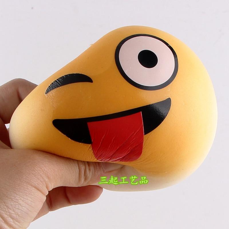 Помощи игрушек squisky Игрушечные лошадки моделирование хлеб 10 см красочные забавные выражения хлеб торт мини-кукла вешалка сотовый телефон к…