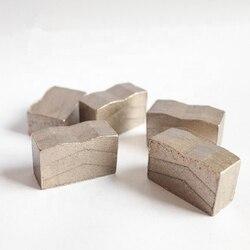 DS06 Gesinterde Blok Diamant Segmenten D1200mm Graniet Snijden Segmenten Sandwich Segmenten 23*8.0/7.5/7.0*19.5 /20mm Een Set 80PCS
