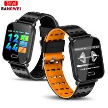 LIGE New Smart Bracelet Men Watch Waterproof Sport Fitness Wristwatch Heart Rate Monitor Wristband Women For IOS Android