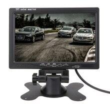 Горячая 7 дюймов tft ЖК-дисплей dvd-подголовник Дисплей Разделение для заднего вида Камера DVD Мониторы для заднего вида Камера GPS с Дистанционное управление