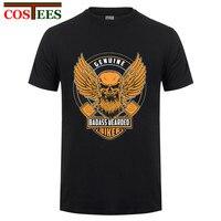 Genuine Badass Beareded Biker T Shirts Men Boys Artist Custom 100 Cotton Short Sleeve Valentine S