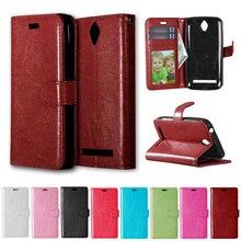 "Flip Case for Asus ZenFone Go Z00SD ZC451TG ZC ZC451 451 451TG TG 4.5"" inch Flip Phone Leather Cover for Asus_Z00SD ZenFoneGo"