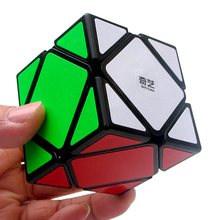 Qiyi QiCheng A Speed Magic Cube Skewed Speed Cube Magic Bricks Block Brain Teaser New Year Gift Toys for Children qiyi qicheng skewb speed magic cube 2 on 2 speed cube magic bricks block brain teaser new year gift toys for children
