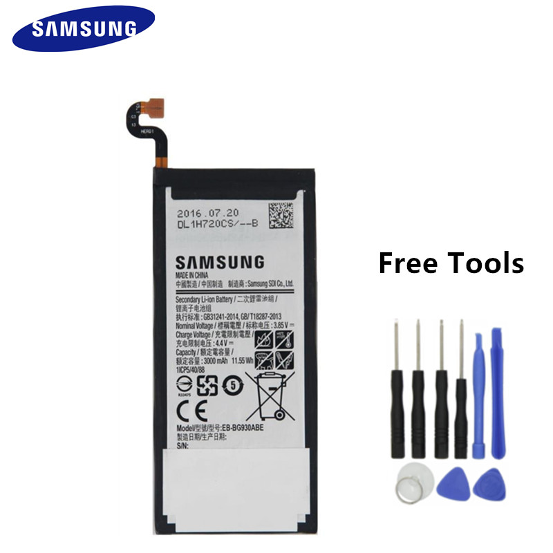 Samsung Battery 3600mah S7-Edge Galaxy Original Ce For Sm-G935w8/g935f Replacement