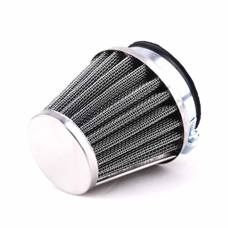 SODIAL 44Mm Motorcycle Air Filter for Gy6 150Cc ATV Quad 4 Wheeler Go Kart Buggy Scooter Moped Motorbike Air Filter Gold