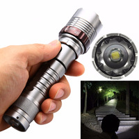 High Quality 2500LM XML T6 LED Rechargeable Flashlight Zoomable Tactical Torch Light Super Bright For Outdoor