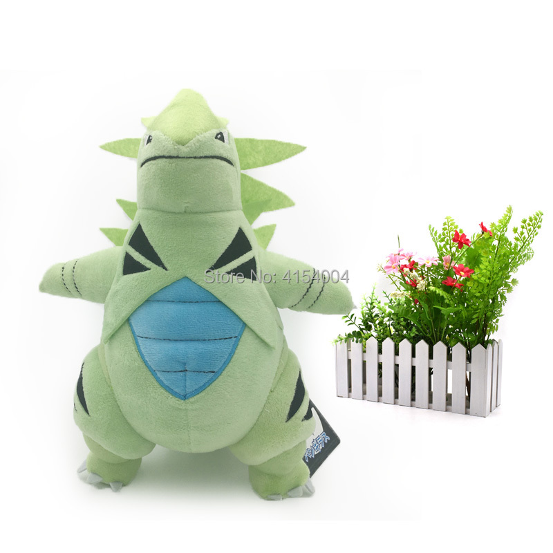 50 pcs/lot Standing Tyranitar Japanese Animal Dolls Plush Doll Hot Toys Great Gift For Kids Soft Plush Doll Toy 1332 cm