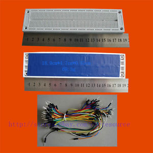 760 Point Solderless PCB Breadboard SYB 130 and Jumpwires 65 wires