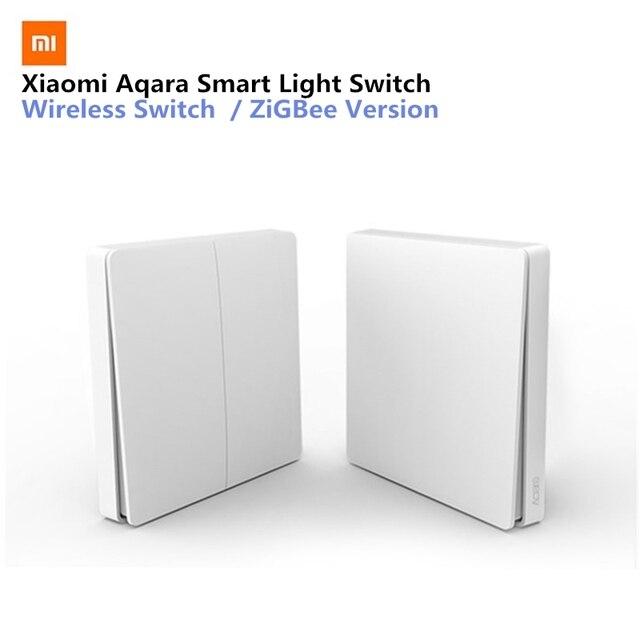 Xiaomi Aqara Inteligentna żarówka Przełącznik Bezprzewodowy Wersja Pojedyncza Klucz Singel Przycisk ZiGBee Wifi Bezprzewodowe Sterowanie APP Sterowania Dla Domu