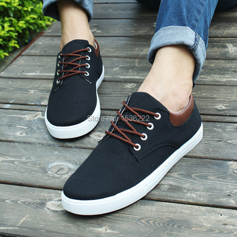 cheap high style men sneakers canvas shoes men casual shoes mens ...