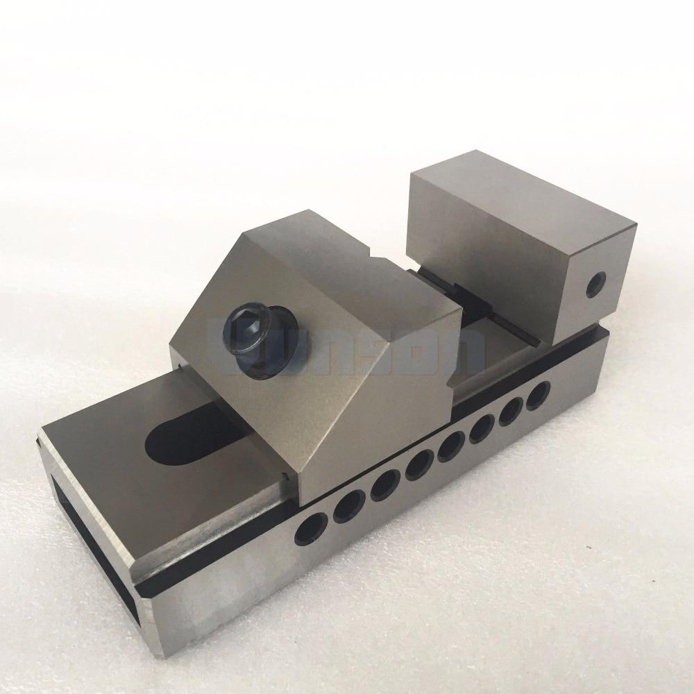 QKG80 flat nose Precision Bench Vise for Surface grinding machine milling machine edm machine High Precision