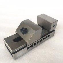 QKG80 плоский нос прецизионные тиски для поверхностного шлифования, фрезерный станок, edm машина, высокая точность 0,005 мм/100 мм