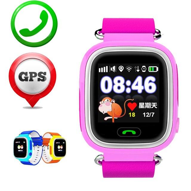 ZW32 Смартфон Часы Дети Ребенок Наручные Часы GSM GPRS GPS Wifi Локатор Трекер Анти-Потерянный Smartwatch Ребенок Для iOS Android Sony