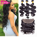 Ear To Ear Lace Frontal With Baby Hair And Bundles Ms Lula Hair With Closure And 3 Bundles Peruvian Body Wave With Closure