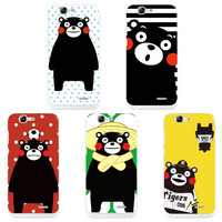 Hot Style Cute Kumnmon Bear Cartoon Case For Huawei Ascend G7 Coque Colorful Funda Skin Cover Case