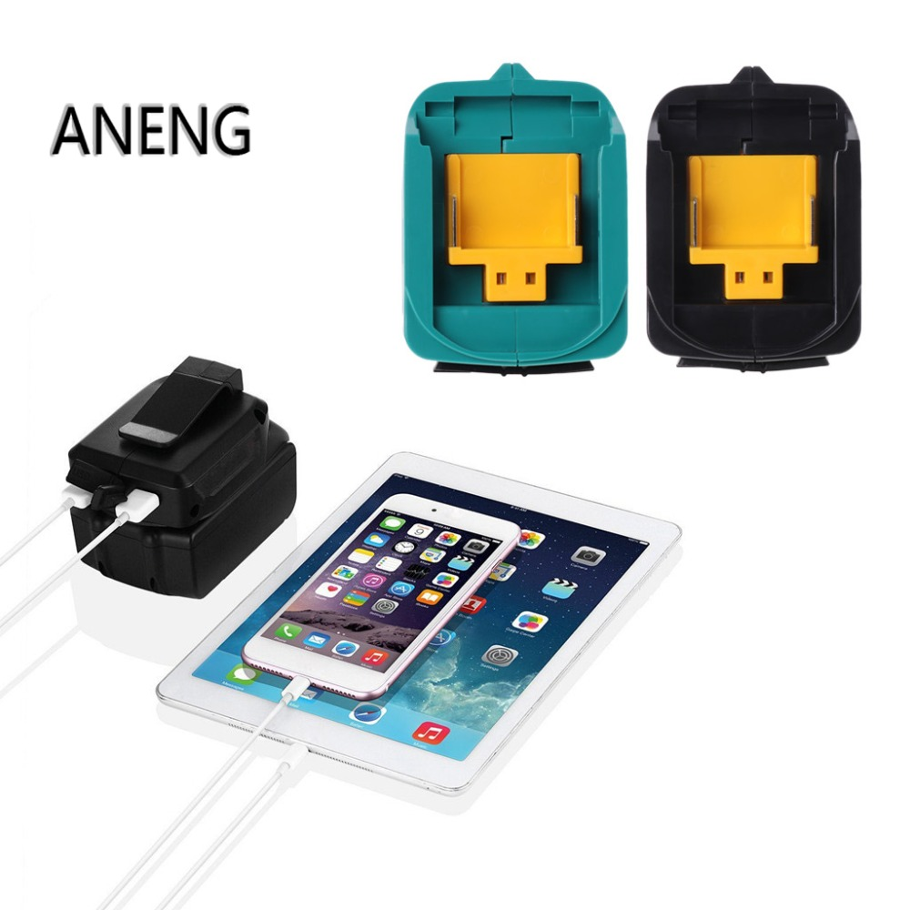 ANENG USB Charging Adapter For Makita ADP05 BL1815 BL1830 BL1840 BL1850 1415 14.8-18V