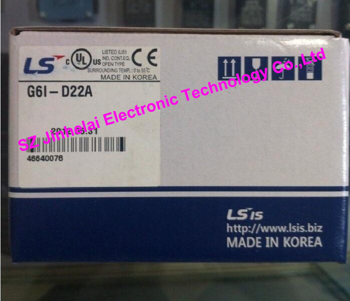 100% New and original G6I-D22A LS(LG) PLC Input module 100% new and original g6i a11a ls lg plc input module ac 110v input 8 points module plc