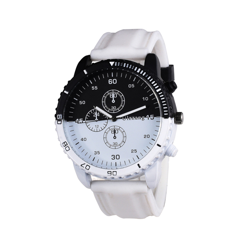 Hothot Design Fashion Personality Creative Movement Large Dial Tide Watch Men 's Watches Business Watch Levert Dropship Feb24 цена и фото