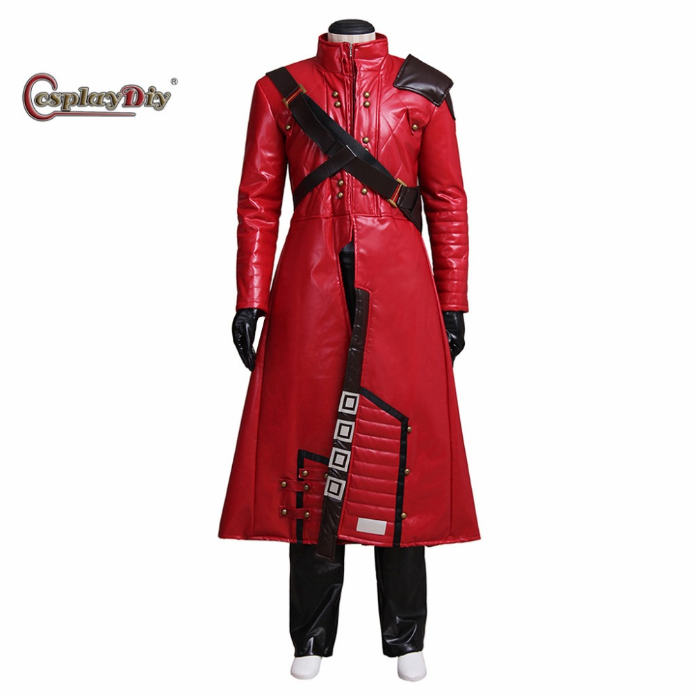 Cosplaydiy Movie Guardians of the Galaxy Peter Quill Costume Adult Men Halloween Carnival Cosplay Clothes Custom Made J5