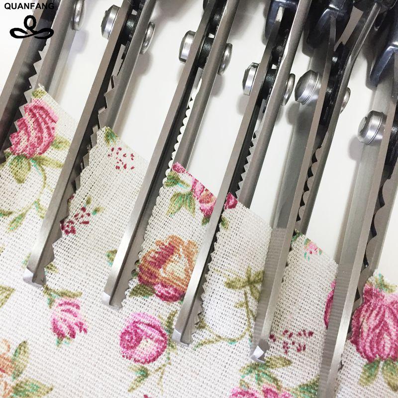 2017 Лидер продаж Нержавеющая новое платье решений Pinking ножницы ткань Diy кожаные ремесла обивка портной Zig Zag вырезать ножницы