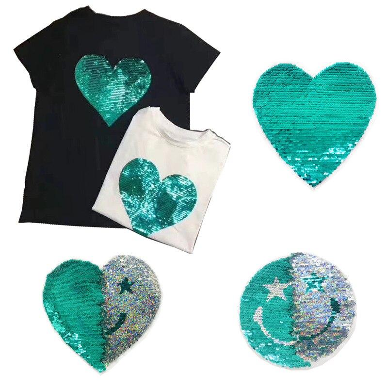 2019 New Fashion DIY Applique Embroidery Applique Costume Decoration Dimensional  Transformed Sequins