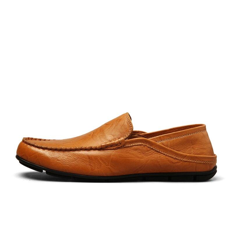 Hombres Ville Vente black Chaussures 46 Tailles blue Plus Quotidienne Des Travail blue Mocassins Valstone Chaude Doux on Cuir De En Air brown brown Hommes Black Plein Slip 8fPRqAw
