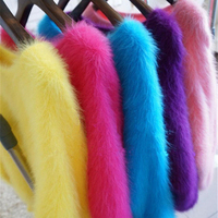 100g 2 Ball Plush Fur Mink Knitting Yarn Luxury Hairy Cashmere Yarn For Handmad Fashion Warm