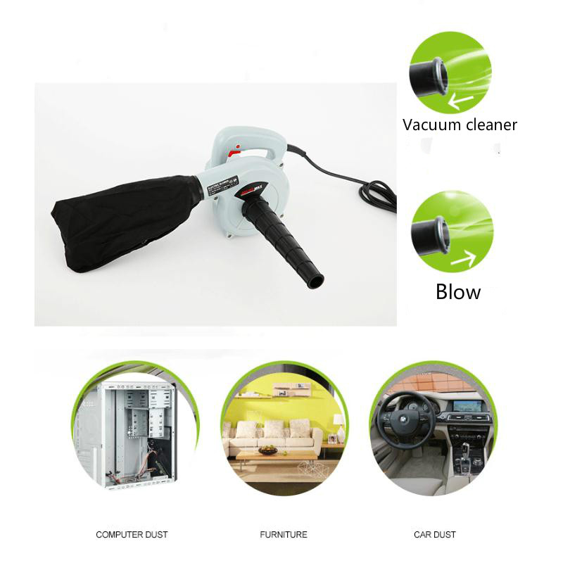Electric air blower 220V 600W Computer cleaner dust Blower fan Vacuum cleaner Blowing Dust Computer Dust Collector Air Blower