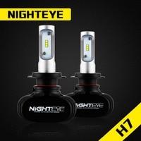 NIGHTEYE H7 50W 8000LM 6500K CSP LED Car Headlight Conversion Kit Fog Lamp Bulb DRL Auto