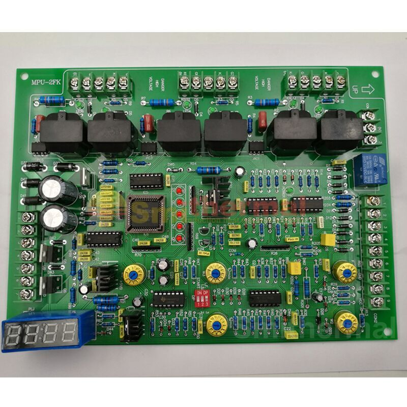 For KGPS Medium Frenquency Inudction Heat Furnace MPU-2FK Control Board