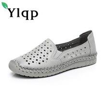 4e0197915 2018 verão confortável fundo macio sandálias tamanho grande das mulheres de  couro feitos à mão das mulheres sapatos único Mãe de.