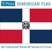 Free shipping The Dominican Republic National Flag 3x5ft Hanging Flag 90*150cm/60*90cm/15*21cm/30*45cm Car Flag free shipping somalia national flag 90 150cm 60 90cm 30 45cm car flag 15 21cm 3x5ft hanging flag